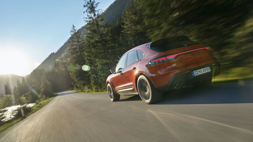 2022 Porsche Macan facelift – revised petrol SUV revealed with more power, minor aesthetic tweaks Image #1321217