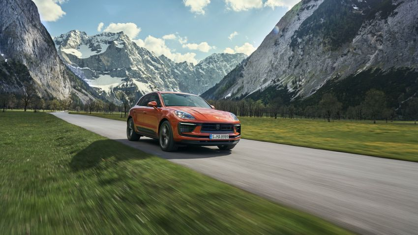 2022 Porsche Macan facelift – revised petrol SUV revealed with more power, minor aesthetic tweaks Image #1321218