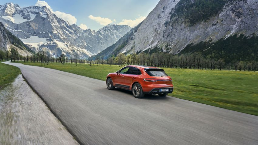 2022 Porsche Macan facelift – revised petrol SUV revealed with more power, minor aesthetic tweaks Image #1321220