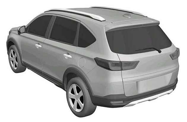 Gambar Paten SUV Honda N7X Produksi 2022-Rumor New BR-V (2)
