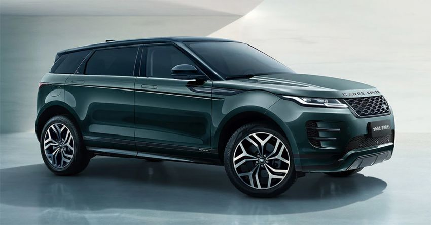 2021 Range Rover Evoque L – long wheelbase variant debuts in China, 125 mm more rear legroom; RM280k Image #1320391