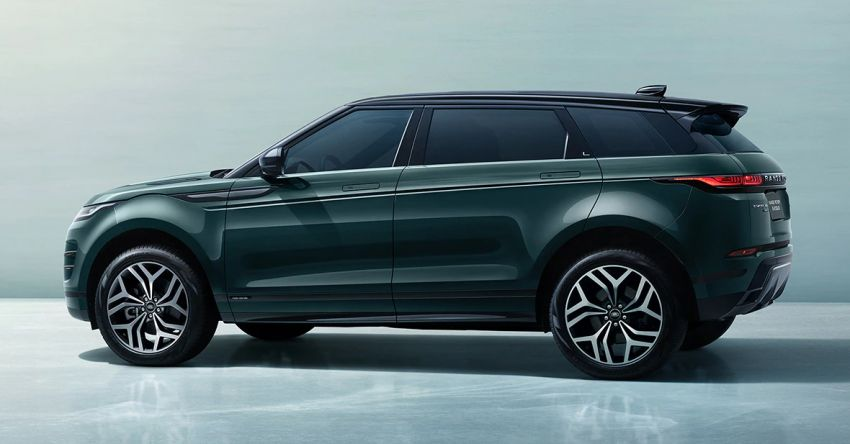 2021 Range Rover Evoque L – long wheelbase variant debuts in China, 125 mm more rear legroom; RM280k Image #1320395