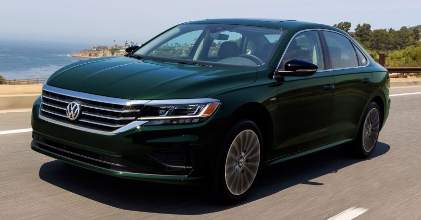 2022 Volkswagen Passat Limited Edition debuts in the US – only 1,973 units; assembly of sedan set to end Image #1321188