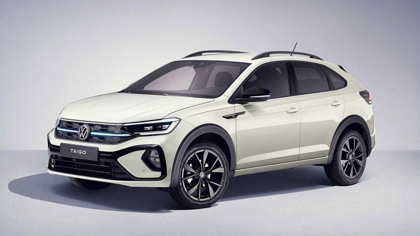 Volkswagen Taigo 2022 tampil pertama kali di Eropah Image #1324535