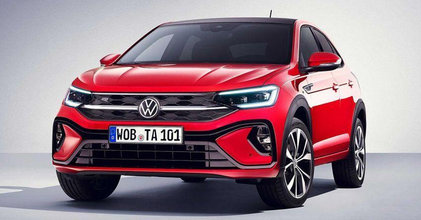Volkswagen Taigo 2022 tampil pertama kali di Eropah Image #1324538