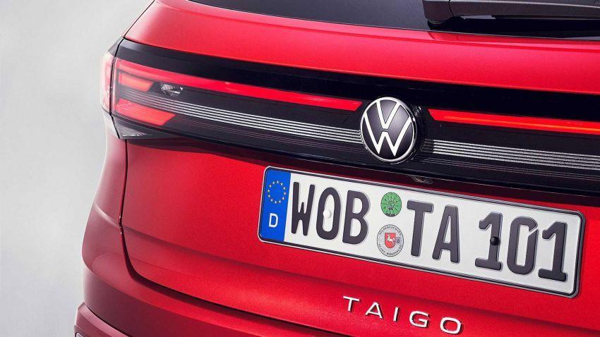 Volkswagen Taigo 2022 tampil pertama kali di Eropah Image #1324549