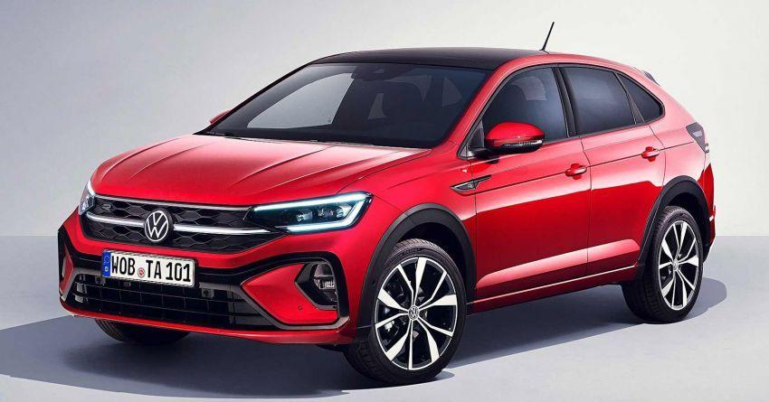 Volkswagen Taigo 2022 tampil pertama kali di Eropah Image #1324539