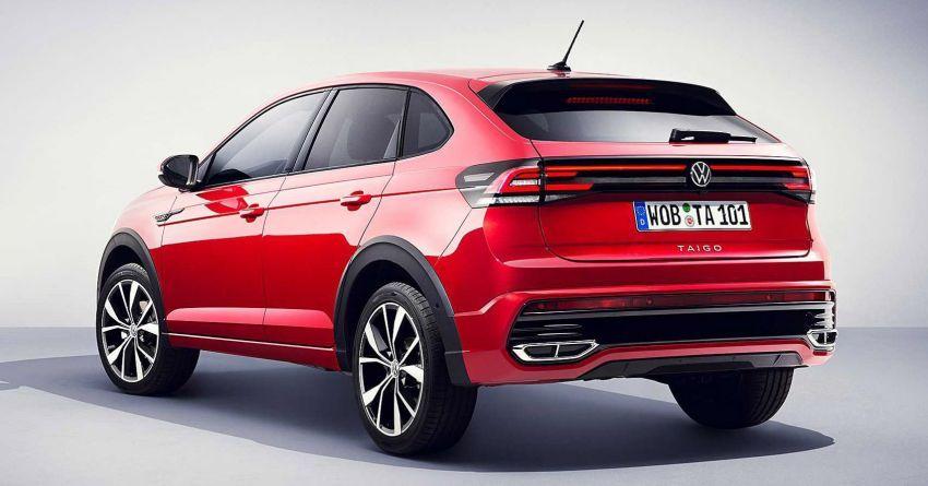 Volkswagen Taigo 2022 tampil pertama kali di Eropah Image #1324540