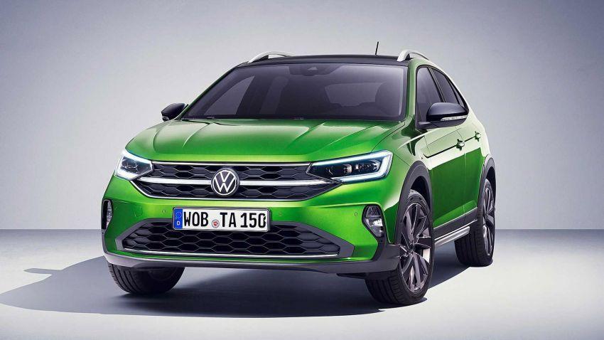 Volkswagen Taigo 2022 tampil pertama kali di Eropah Image #1324556