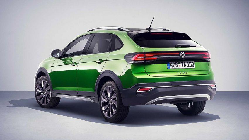 Volkswagen Taigo 2022 tampil pertama kali di Eropah Image #1324557