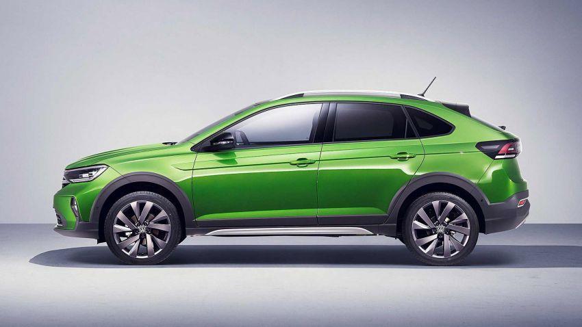 Volkswagen Taigo 2022 tampil pertama kali di Eropah Image #1324558