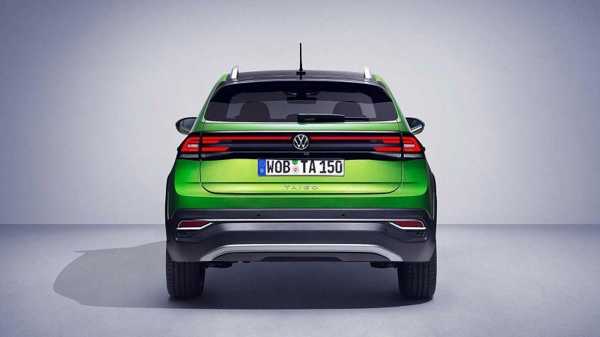 Volkswagen Taigo 2022 tampil pertama kali di Eropah Image #1324560
