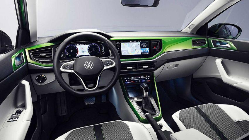 Volkswagen Taigo 2022 tampil pertama kali di Eropah Image #1324564