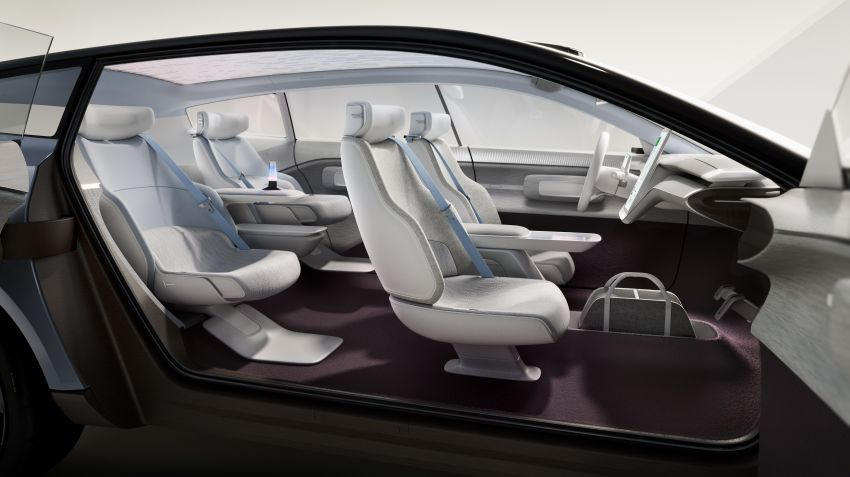 Volvo Concept Recharge 2022 buat penampilan sulung — era baru kereta elektrik, nama bukan lagi guna angka Image #1313967