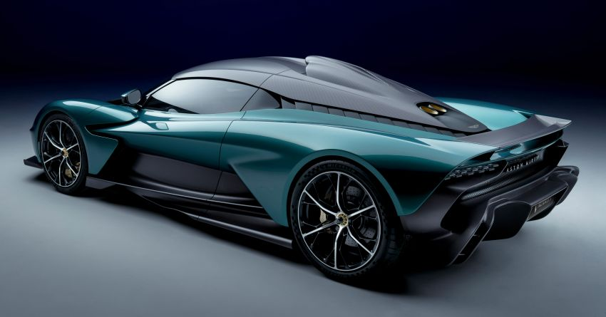 Aston Martin Valhalla debuts in production form – 4.0L twin-turbo V8 PHEV making 950 PS and 1,000 Nm Image #1319940