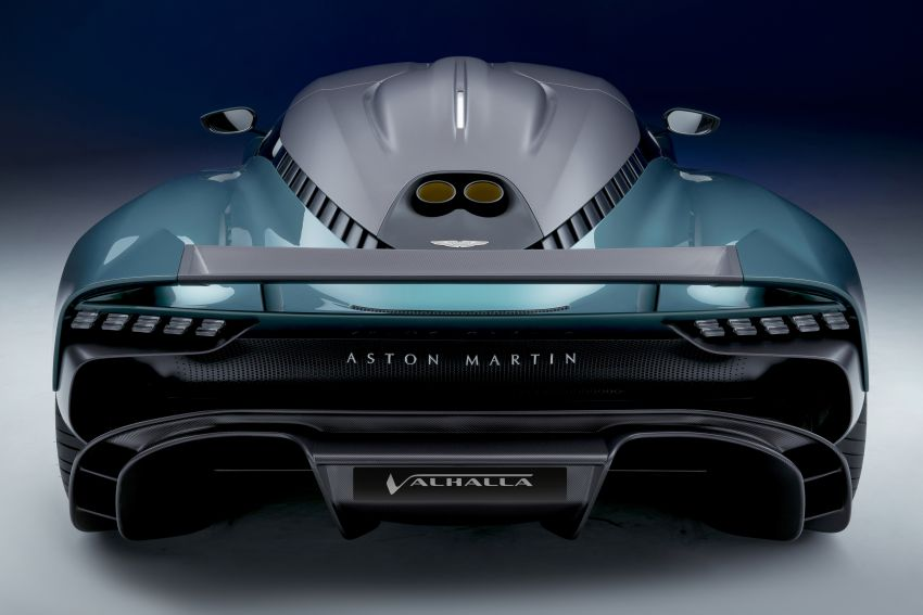Aston Martin Valhalla debuts in production form – 4.0L twin-turbo V8 PHEV making 950 PS and 1,000 Nm Image #1319943