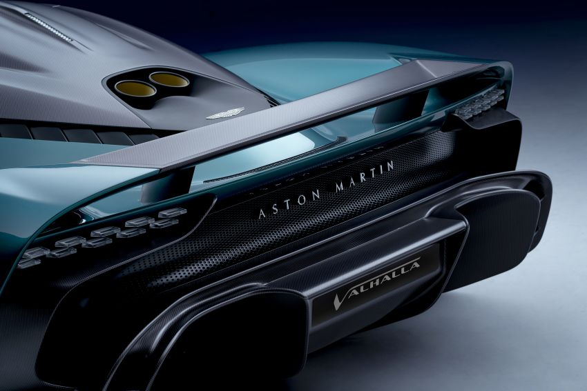 Aston Martin Valhalla debuts in production form – 4.0L twin-turbo V8 PHEV making 950 PS and 1,000 Nm Image #1319947