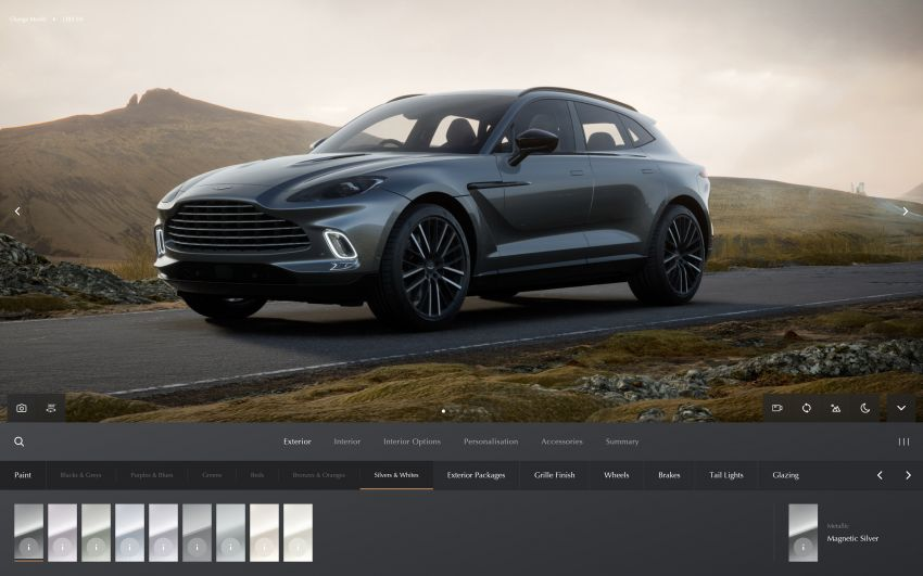 Aston Martin reveals 2022 MY updates for the DB11, DBS, DBX and Vantage, along with new configurator Image #1321671