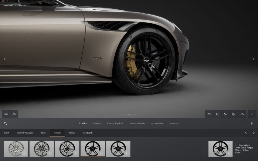 Aston Martin reveals 2022 MY updates for the DB11, DBS, DBX and Vantage, along with new configurator Image #1321680
