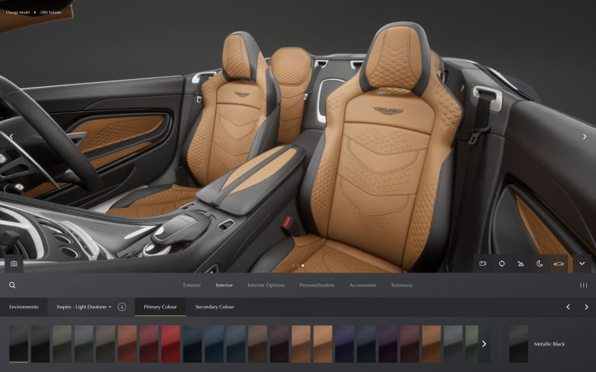 Aston Martin reveals 2022 MY updates for the DB11, DBS, DBX and Vantage, along with new configurator Image #1321681