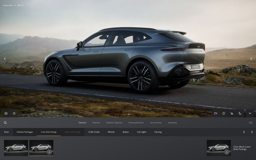 Aston Martin reveals 2022 MY updates for the DB11, DBS, DBX and Vantage, along with new configurator Image #1321673