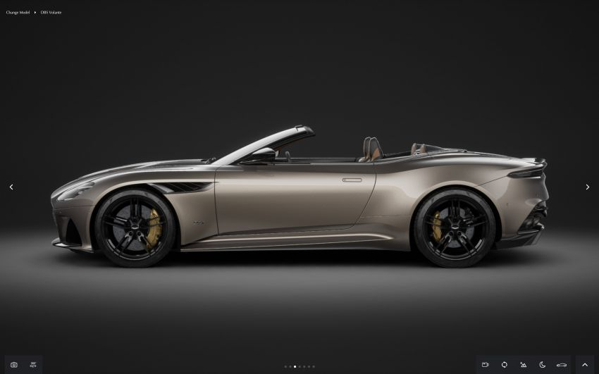 Aston Martin reveals 2022 MY updates for the DB11, DBS, DBX and Vantage, along with new configurator Image #1321678