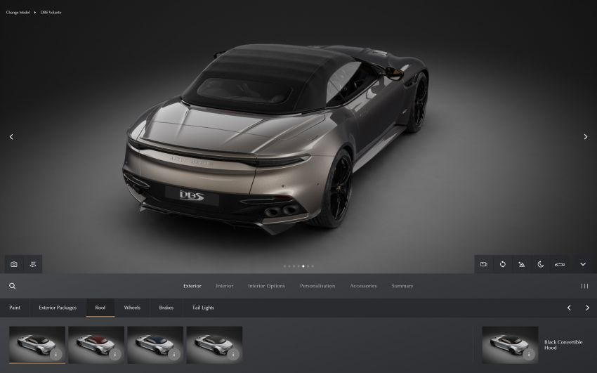 Aston Martin reveals 2022 MY updates for the DB11, DBS, DBX and Vantage, along with new configurator Image #1321679