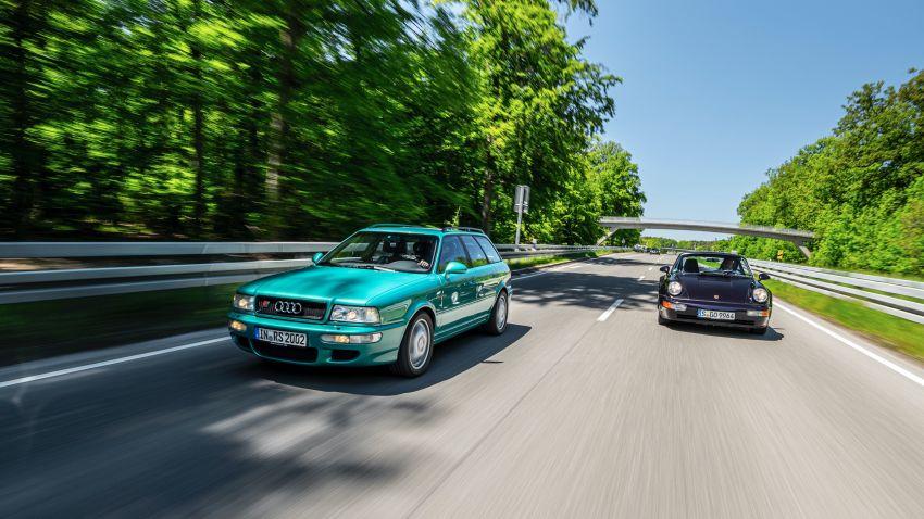 VIDEO: Porsche celebrates the co-developed Audi RS2 Image #1318789