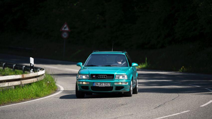 VIDEO: Porsche celebrates the co-developed Audi RS2 Image #1318793