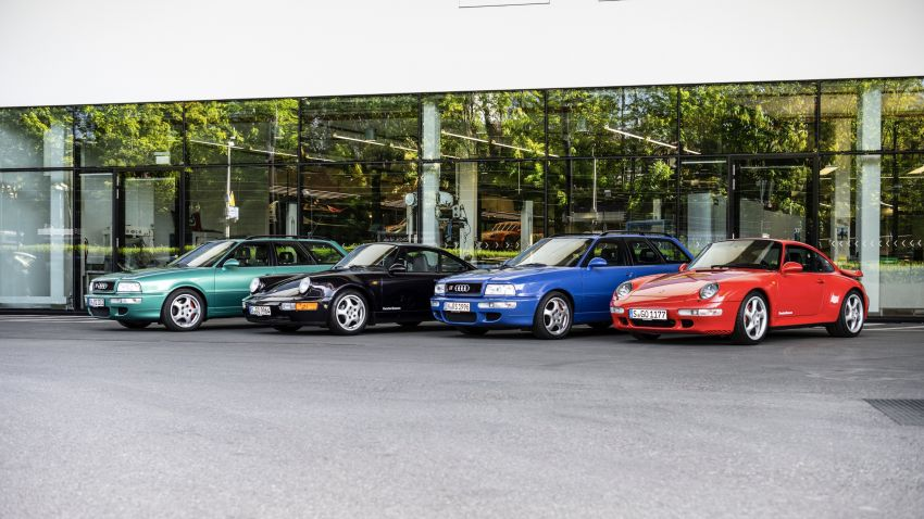 VIDEO: Porsche celebrates the co-developed Audi RS2 Image #1318795