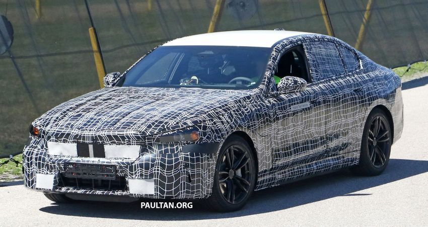 SPYSHOTS: G60 BMW 5 Series hybrid sighted again Image #1319848
