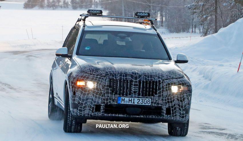 SPYSHOTS: BMW X7 LCI to come with split headlights Image #1315886