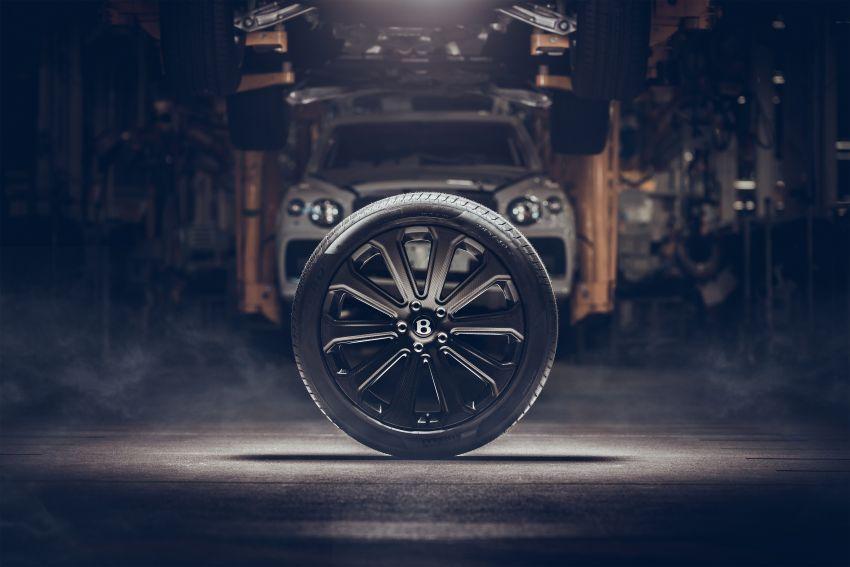 Bentley unveils 22″ carbon-fibre wheel for Bentayga Image #1323248
