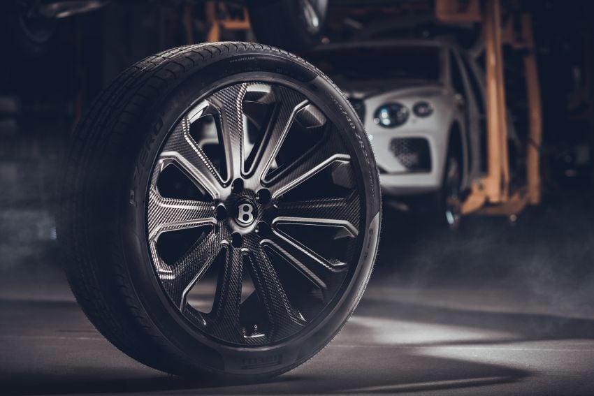 Bentley unveils 22″ carbon-fibre wheel for Bentayga Image #1323249