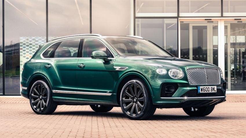 Bentley unveils 22″ carbon-fibre wheel for Bentayga Image #1323250
