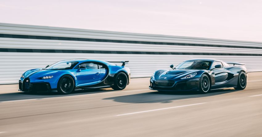 Bugatti-Rimac joint venture confirmed – Rimac to own 55% share, Porsche 45%; joint R&D, resource sharing Image #1315610