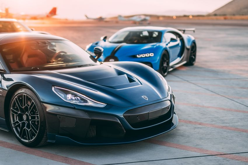 Bugatti-Rimac joint venture confirmed – Rimac to own 55% share, Porsche 45%; joint R&D, resource sharing Image #1315612