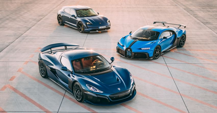 Bugatti-Rimac joint venture confirmed – Rimac to own 55% share, Porsche 45%; joint R&D, resource sharing Image #1315613