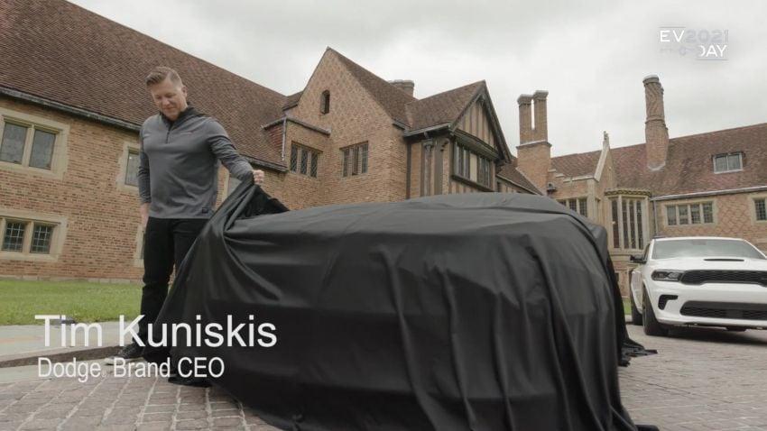 Dodge siar teaser kereta muscle elektrik – lancar 2024 Image #1317475
