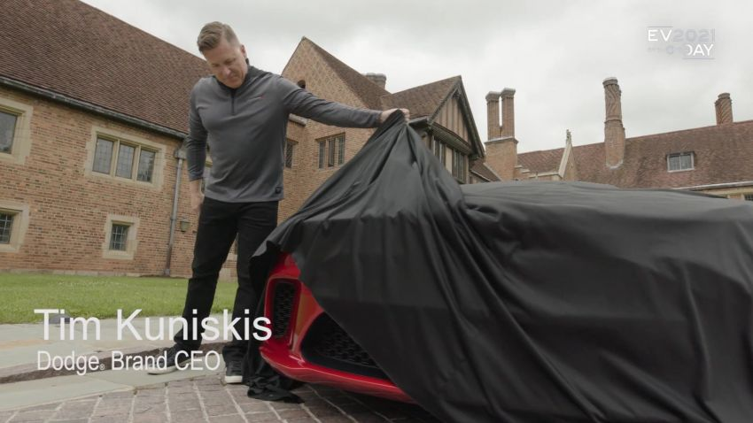 Dodge siar teaser kereta muscle elektrik – lancar 2024 Image #1317473
