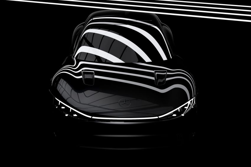 Mercedes-Benz Vision EQXX teased – debuts today Image #1321842