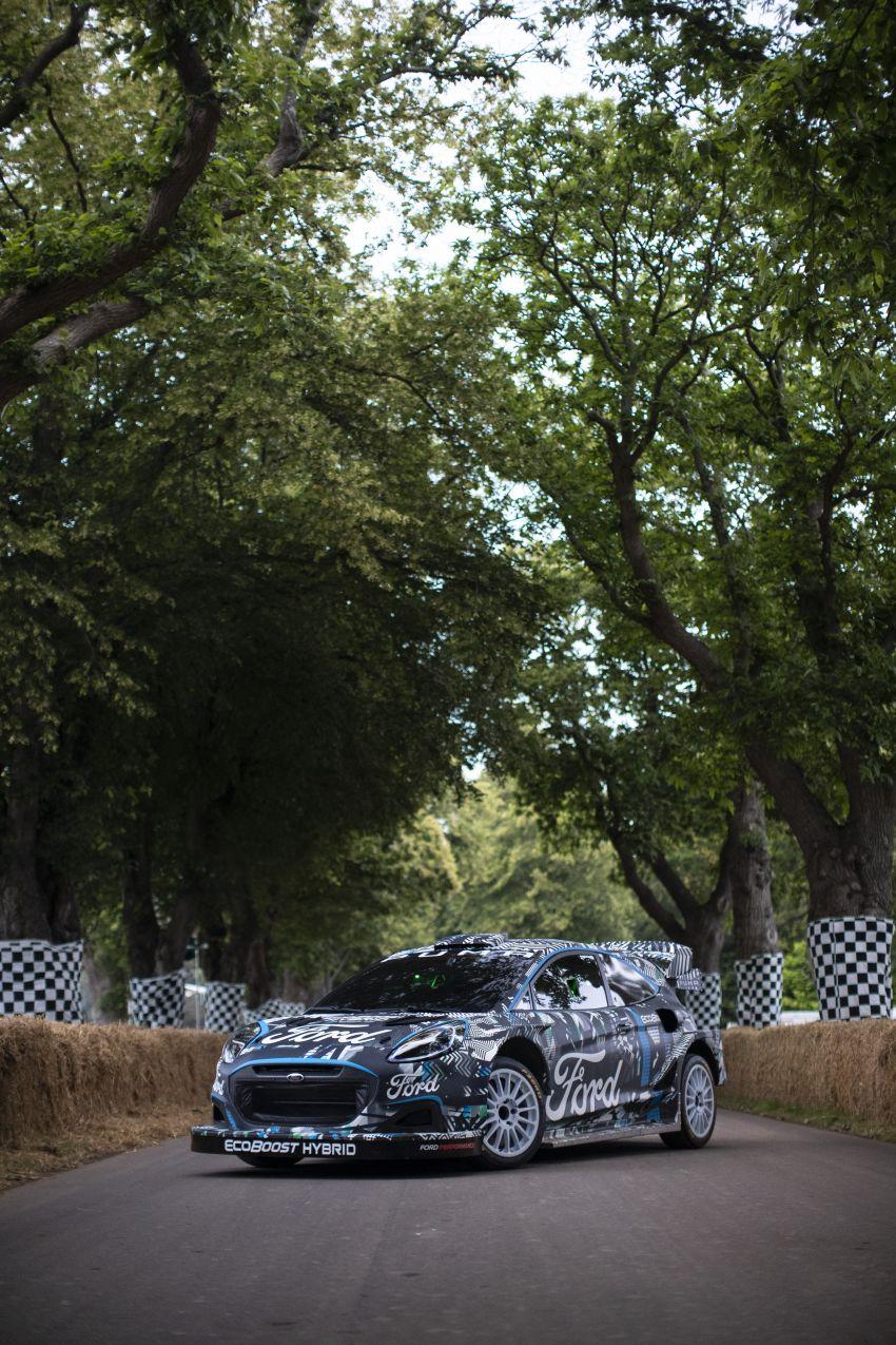 Ford Puma Rally1 Hybrid WRC 2022 – M-Sport ganti tugas Fiesta WRC, hasilkan kuasa lebih dari 500 hp! Image #1317299