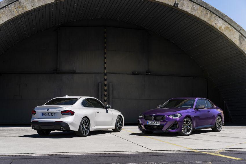 BMW 2 Series Coupe G42 diperkenal – tiga pilihan enjin, M240i xDrive mampu hasilkan 374 hp, 500 Nm Image #1317017