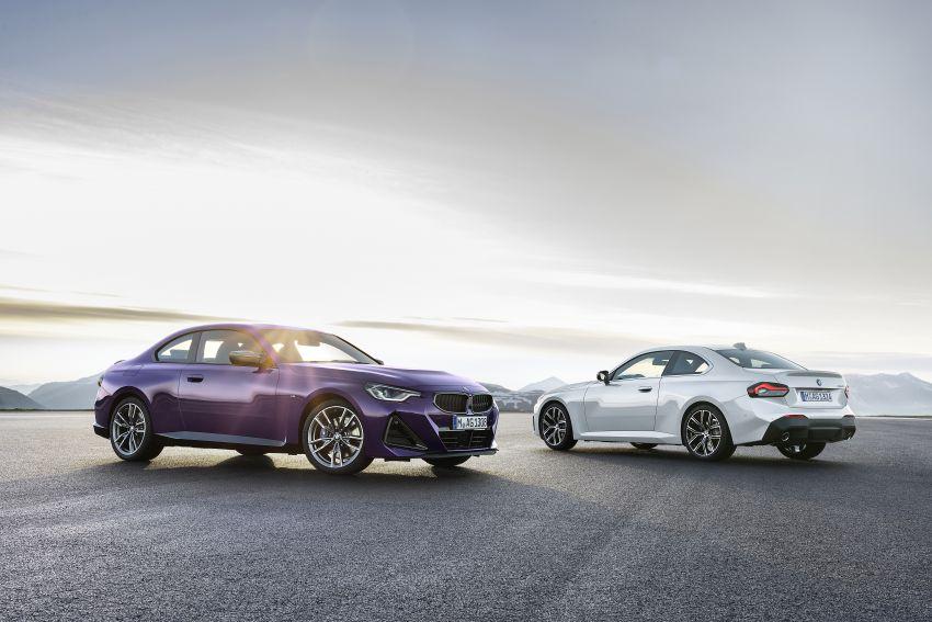 BMW 2 Series Coupe G42 diperkenal – tiga pilihan enjin, M240i xDrive mampu hasilkan 374 hp, 500 Nm Image #1317020