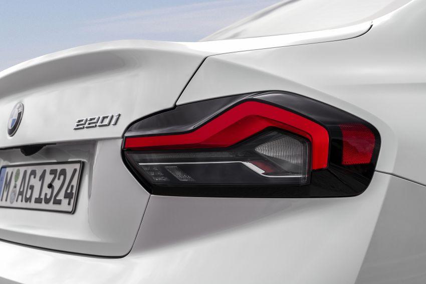 BMW 2 Series Coupe G42 diperkenal – tiga pilihan enjin, M240i xDrive mampu hasilkan 374 hp, 500 Nm Image #1316912