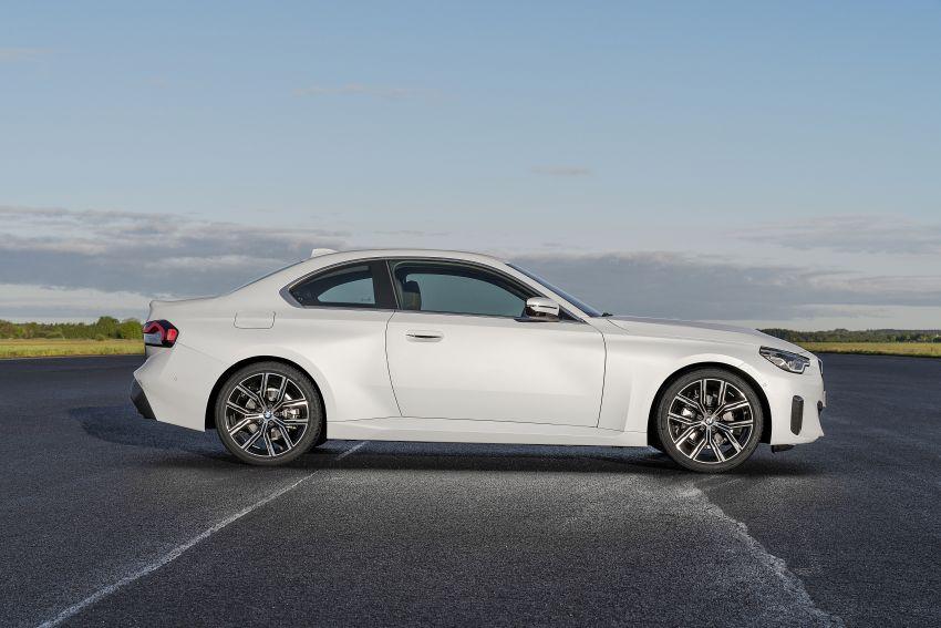 BMW 2 Series Coupe G42 diperkenal – tiga pilihan enjin, M240i xDrive mampu hasilkan 374 hp, 500 Nm Image #1316916