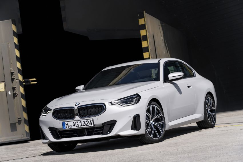 G42 BMW 2 Series Coupé debuts – 2.0 litre petrol and diesel engines; 3.0L M240i xDrive with 374 hp/500 Nm Image #1316495
