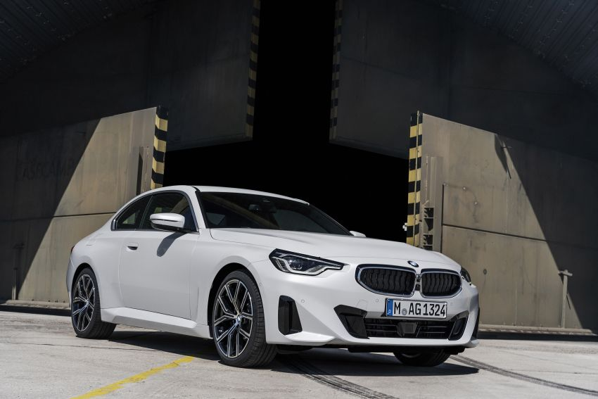 G42 BMW 2 Series Coupé debuts – 2.0 litre petrol and diesel engines; 3.0L M240i xDrive with 374 hp/500 Nm Image #1316497