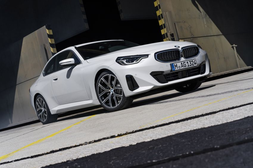 G42 BMW 2 Series Coupé debuts – 2.0 litre petrol and diesel engines; 3.0L M240i xDrive with 374 hp/500 Nm Image #1316499