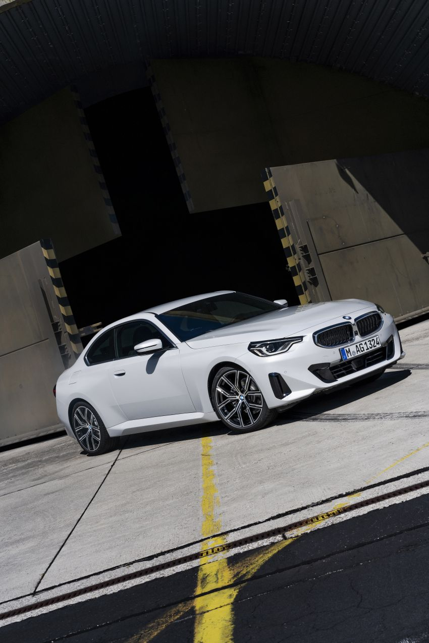 G42 BMW 2 Series Coupé debuts – 2.0 litre petrol and diesel engines; 3.0L M240i xDrive with 374 hp/500 Nm Image #1316501